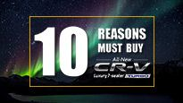 10 Reasons Must Buy All New Honda CR-V Turbo