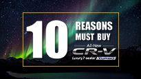 10 Reasons Must Buy All New Honda CR-V Turbo